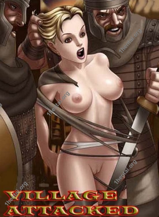 VILLAGE ATTACKED by Aries (En, BDSM comics free)