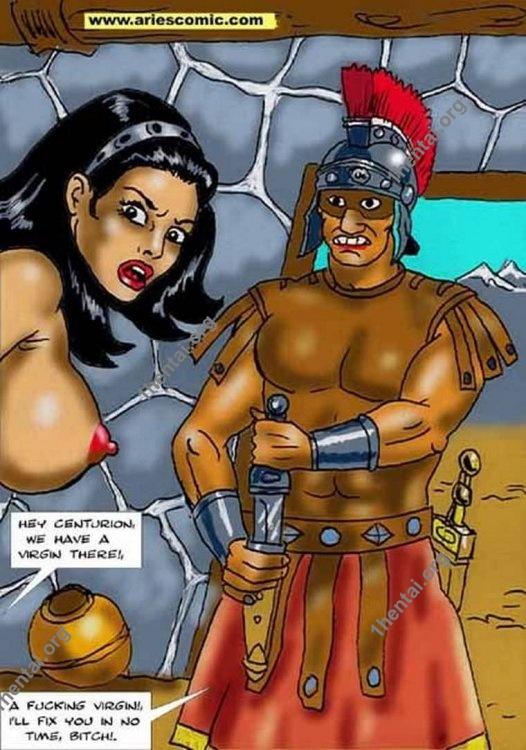 WAR SPOILS by Aries (En, BDSM comics free)
