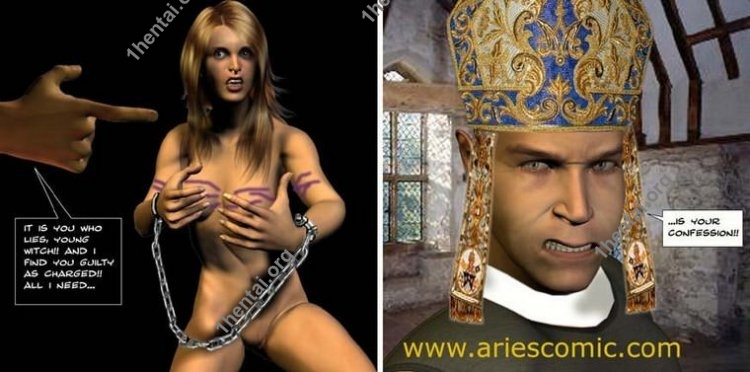 WITCHUNT by Aries (En, BDSM comics free)