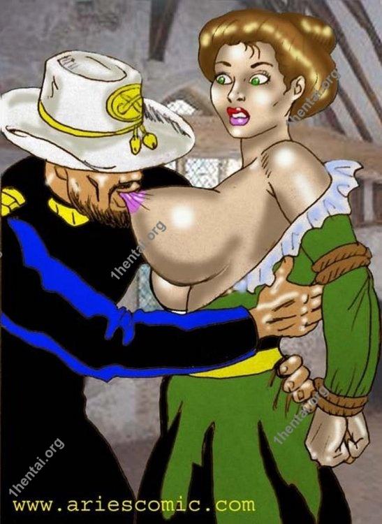 YANKEEPRISON by Aries (En, BDSM comics free)