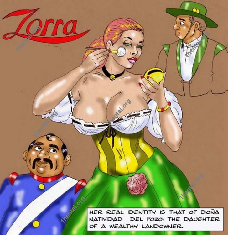 ZORRA by Aries (En, BDSM comics free)