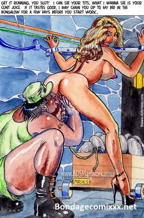 Damn Unknown African Torture Comics by ARIES 01