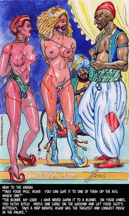 Damn Unknown ARIES 02 Color BDSM Comics