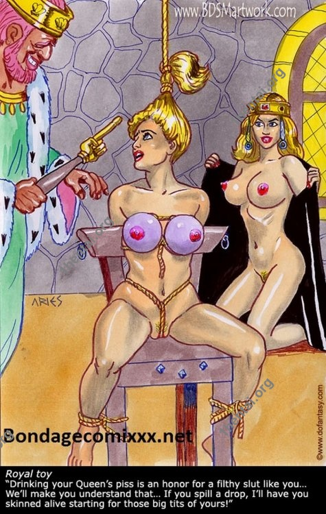 Damn Unknown ARIES 03 Color BDSM Comics Free