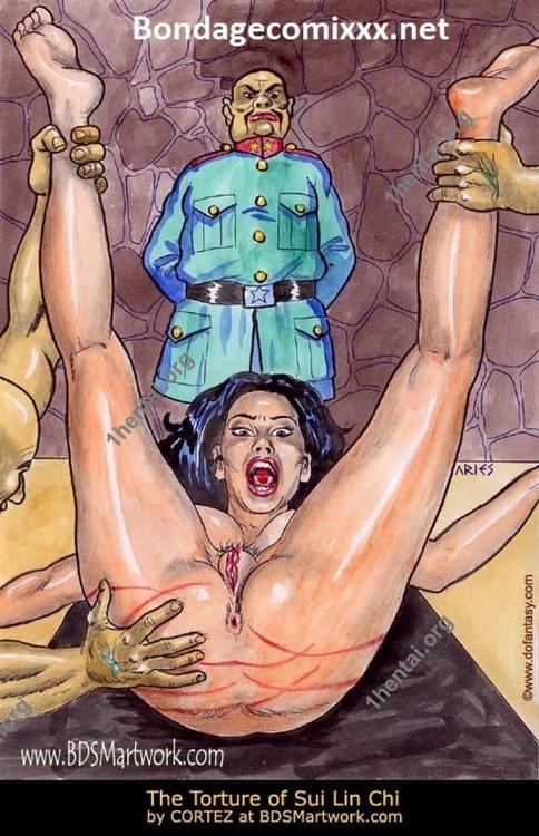 Damn Unknown ARIES 04 BDSM Artwork free comics