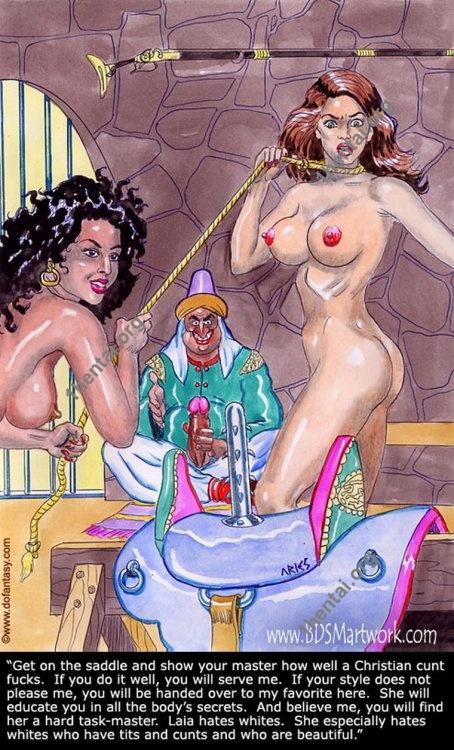 Damn Unknown ARIES 05 BDSM Black Slavers 18+ comics