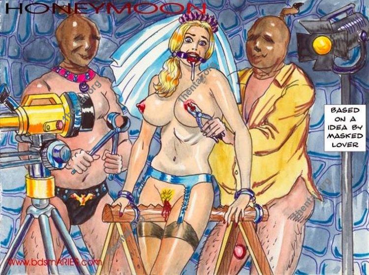 Damn Unknown ARIES 06 Hell Brothel BDSM comics