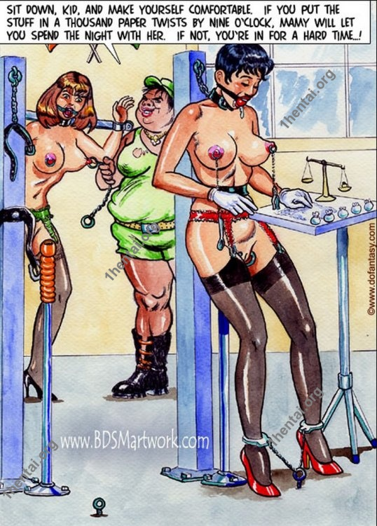 FORCED LABOR BDSM comics 18+ En by Aries