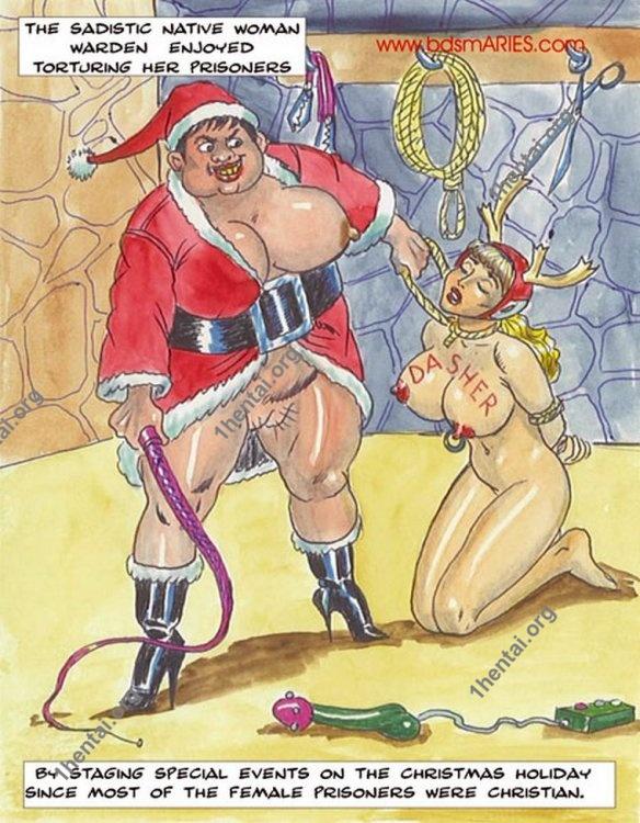 Santa Claus Bdsm comics free by Pr1son