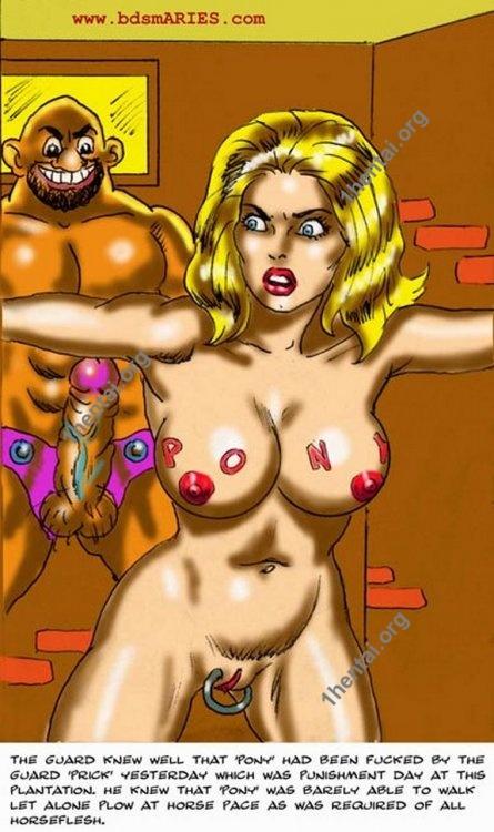 Sl4ve Plantation BDSM comics free