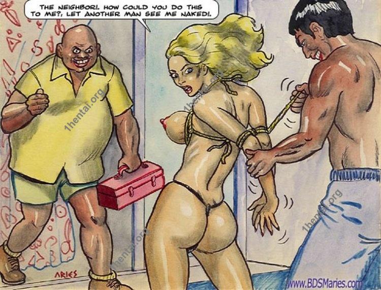 The Neighbor color torture comics free