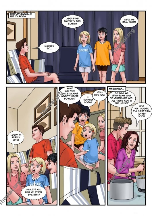 DreamTales – Amy Sleepover Family Nudism Comics Free