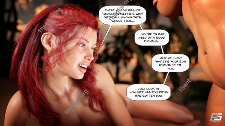 Pegasus Smith – Au Naturel 6 3D comics En