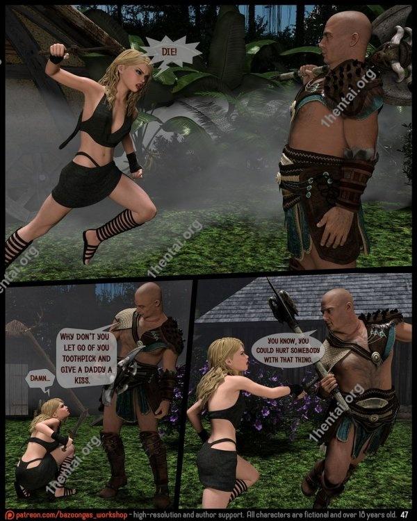 Bazoongas Workshop – Incest Comics Ancient Ritual 1-3 free