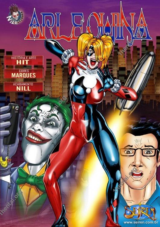 Seiren – Harley Quinn (Portuguese) cartoon comics