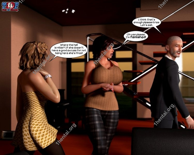 Busted & Caught 2 - Y3DF Comics Free