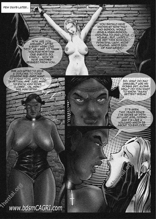 Annabel comics by Cagri