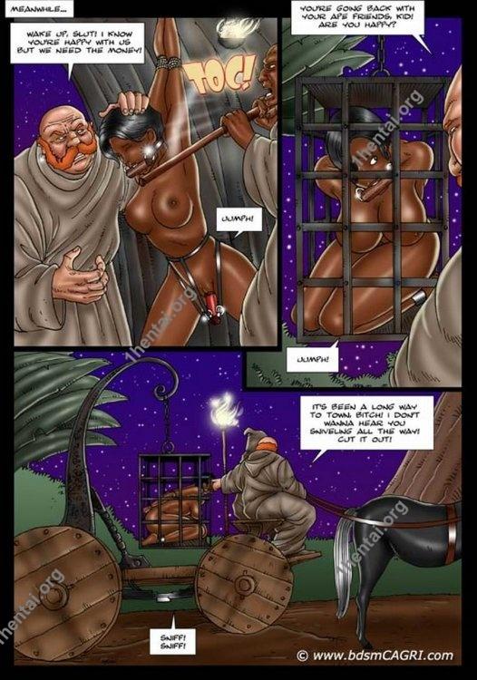 APE WORLD 2 comics by Cagri