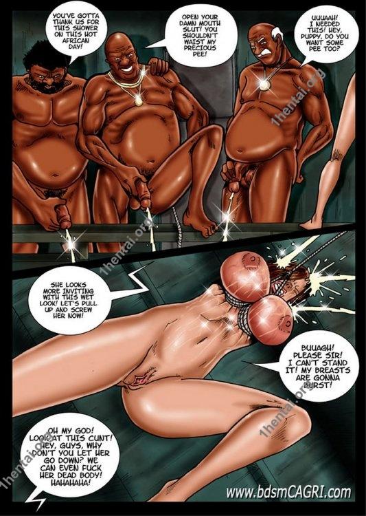 BLACK SUMMER comics by Cagri