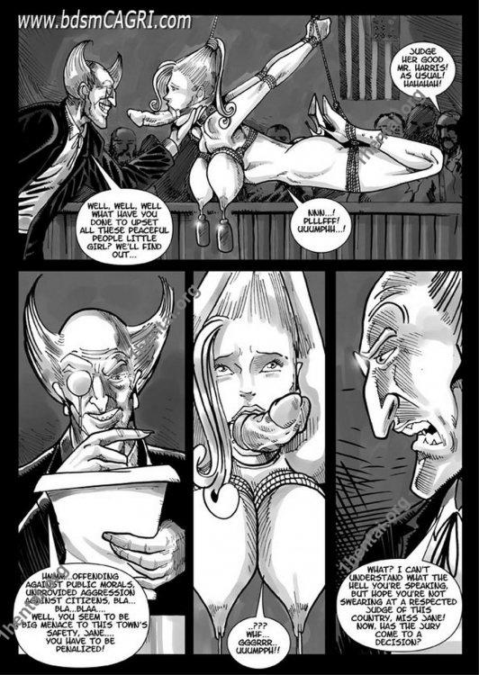 CALAMITY JANE 01 comics by Cagri