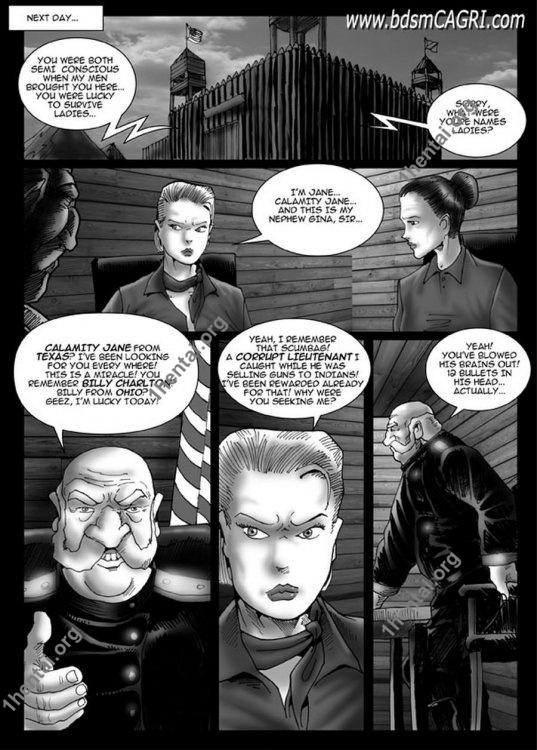 CALAMITY JANE 02 comics by Cagri