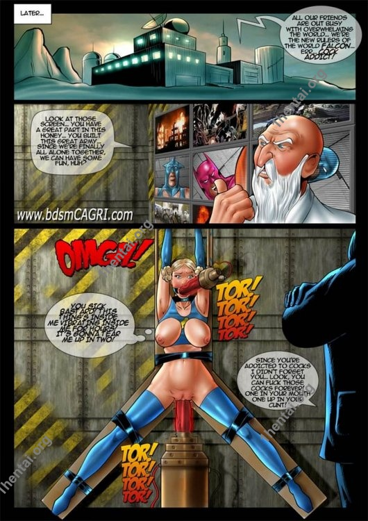 FALL OF THE FALCON comics by Cagri