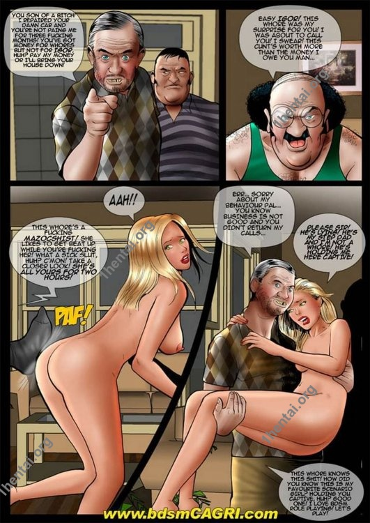 FAMILY BUSINESS comics by Cagri