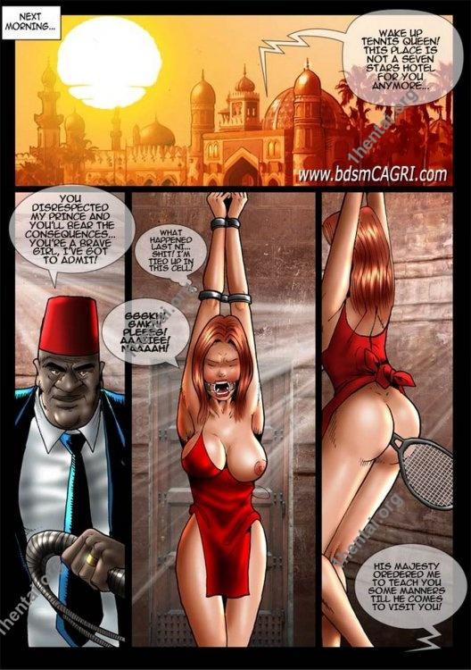 GAME SET MATCH comics by Cagri