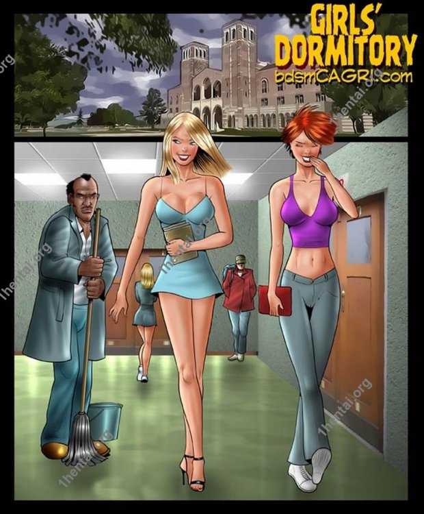 GIRLS DORMITORY comics by Cagri