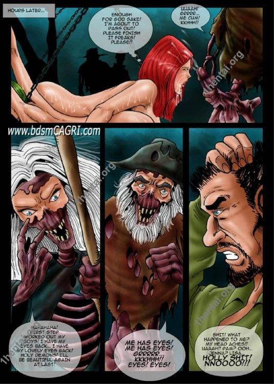 Haunted House (BDSM Comic) comics by Cagri