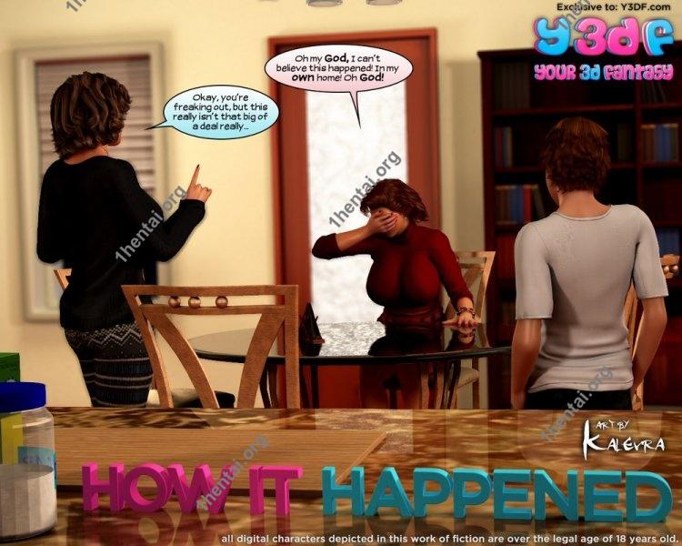 How it Happened - Y3DF Comics Free