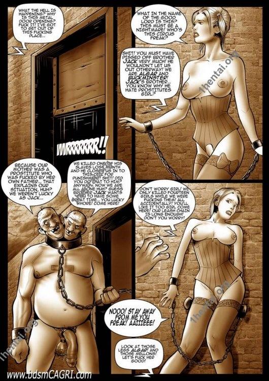 JACK TORMENTOR comics by Cagri