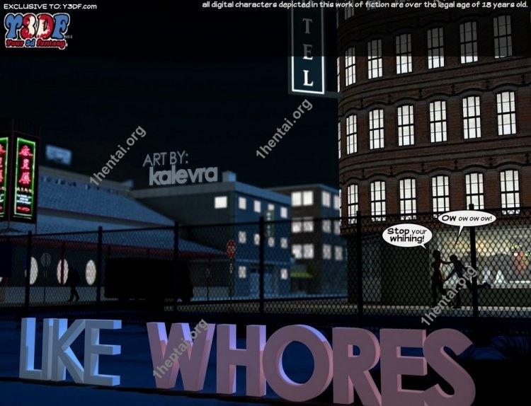 Like Whores - Y3DF Comics Free