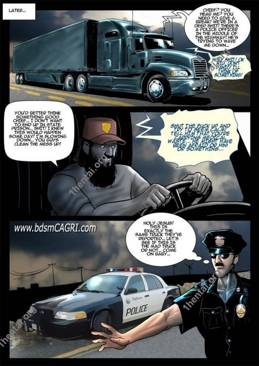 MAD TRUCK comics by Cagri