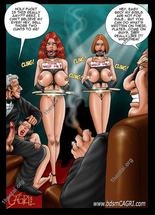 MANAGERESS comics by Cagri