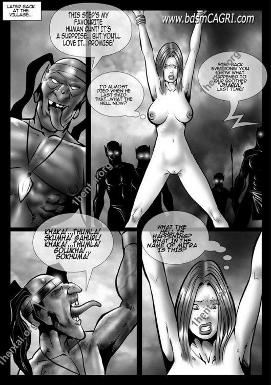 Red Xona comics by Cagri