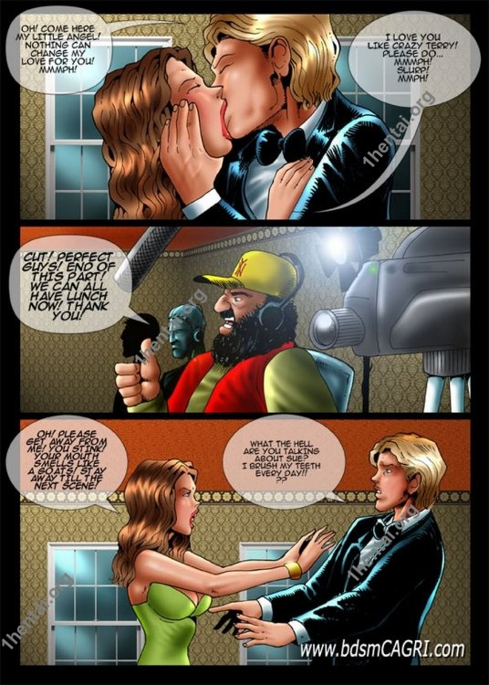 SOAP STAR comics by Cagri