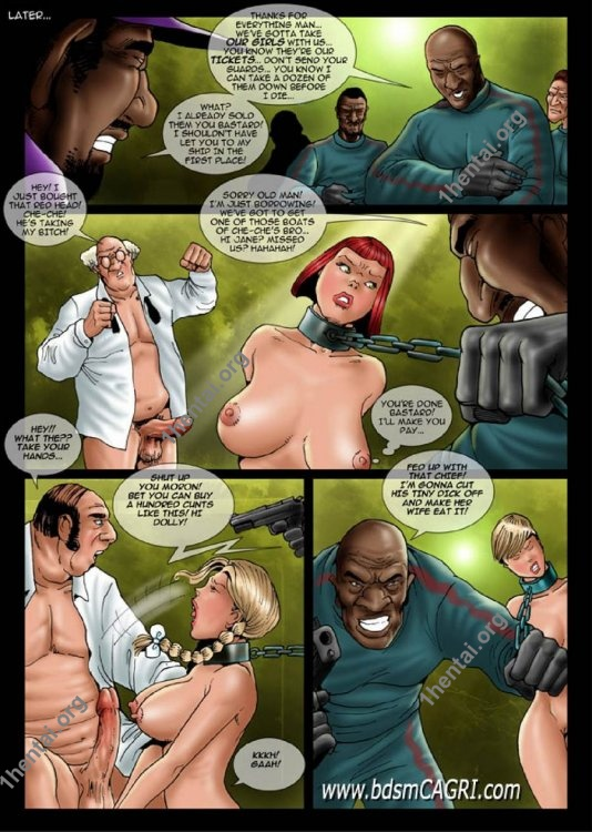 Spear Chucker comics by Cagri