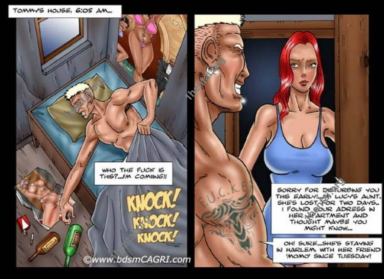 Spoiled Bitch comics by Cagri