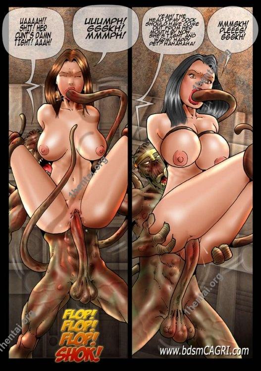 Star Preys 2 comics by Cagri