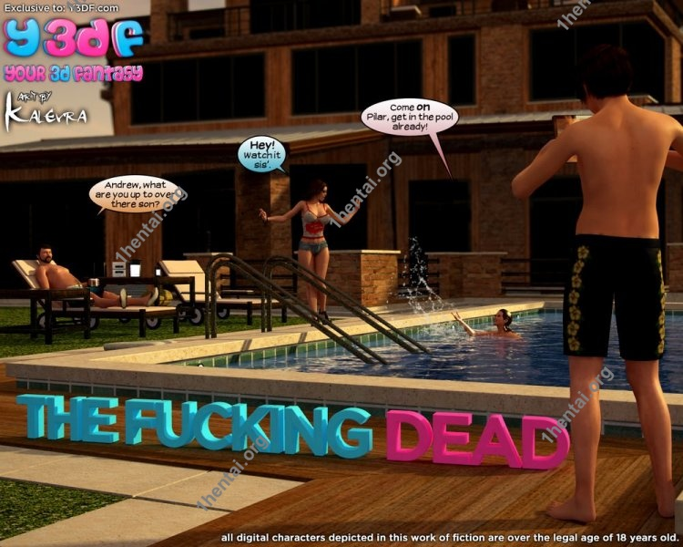 The Fucking Dead 1 - Y3DF Comics Free