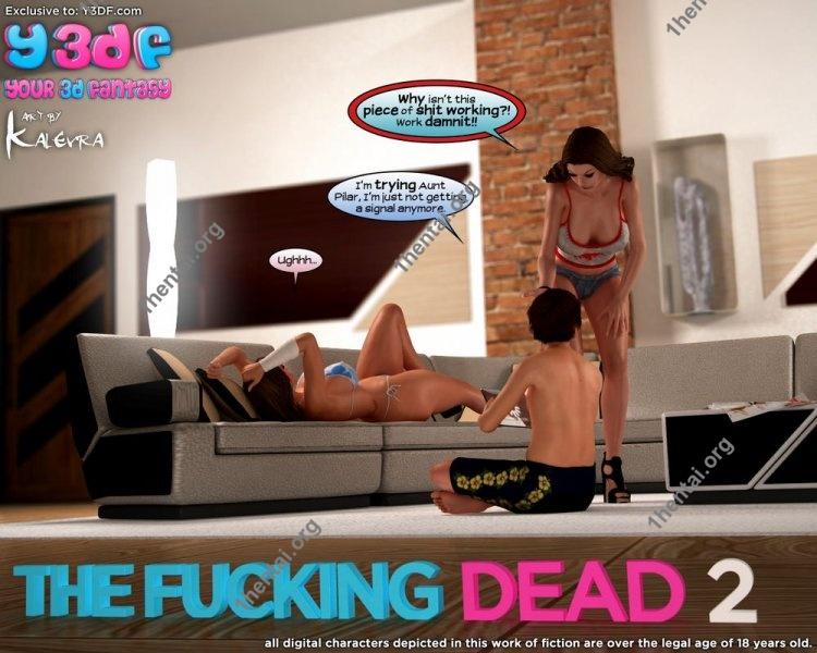 The Fucking Dead 2 - Y3DF Comics Free