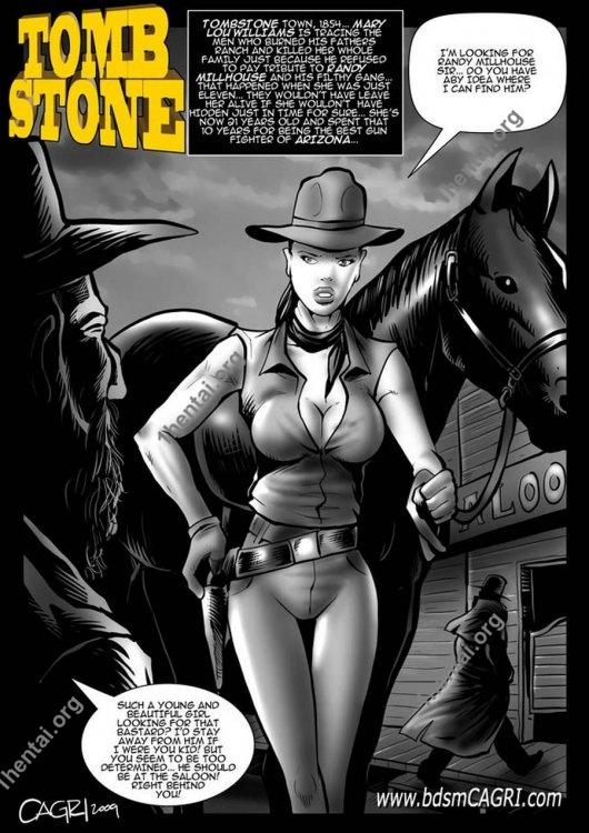 Tomb Stone comics by Cagri