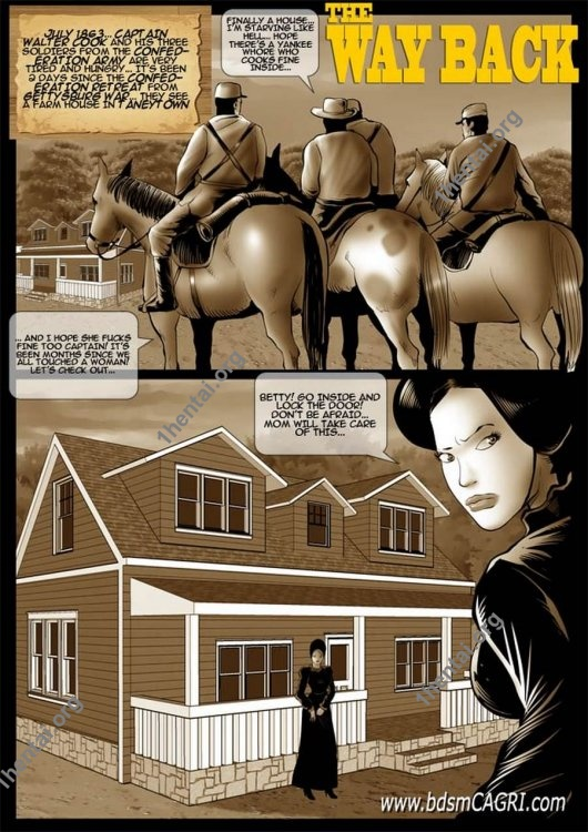 WAY BACK comics by Cagri