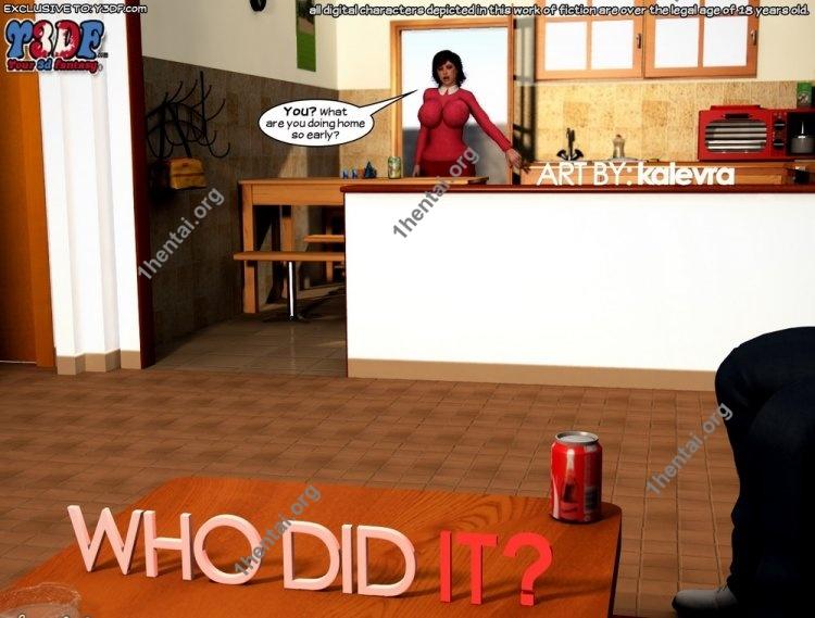 Who Did It 1 - Y3DF Comics Free