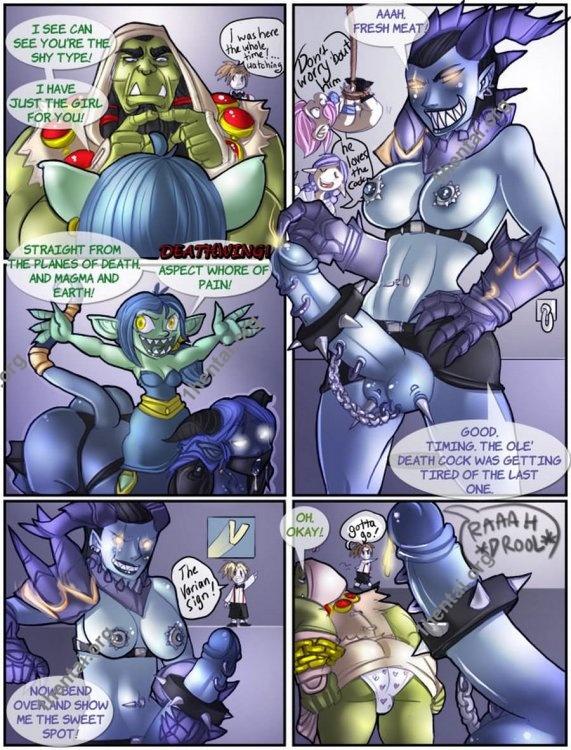 Shia - A Warcraftian Bachelor Party (comics,  en)