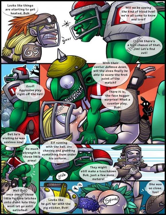 Shia - Blood Bowl the comic (comics,  en)