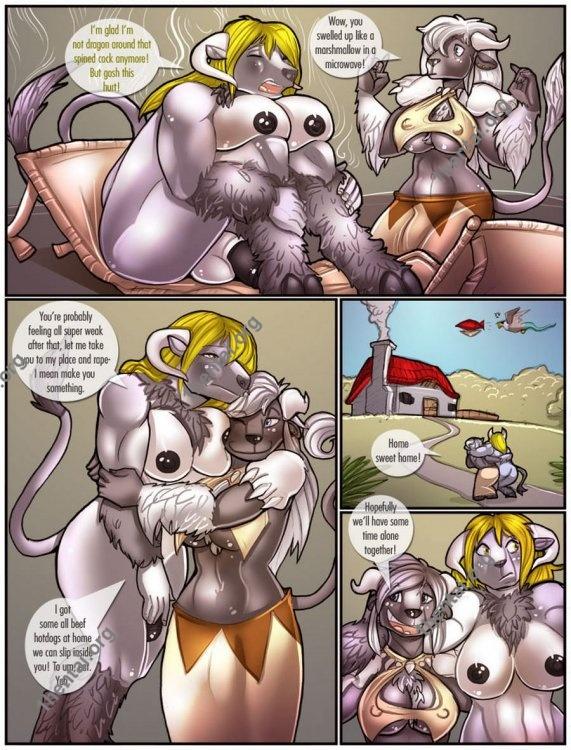Shia - Cocks and Cows (comics,  en)