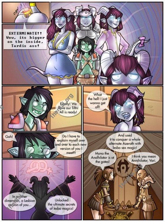 Shia - Dildo of Doom (comics,  en)