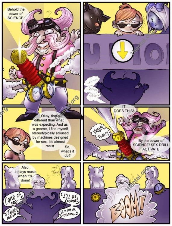 Shia - Gno-mess Porn (comics,  en)